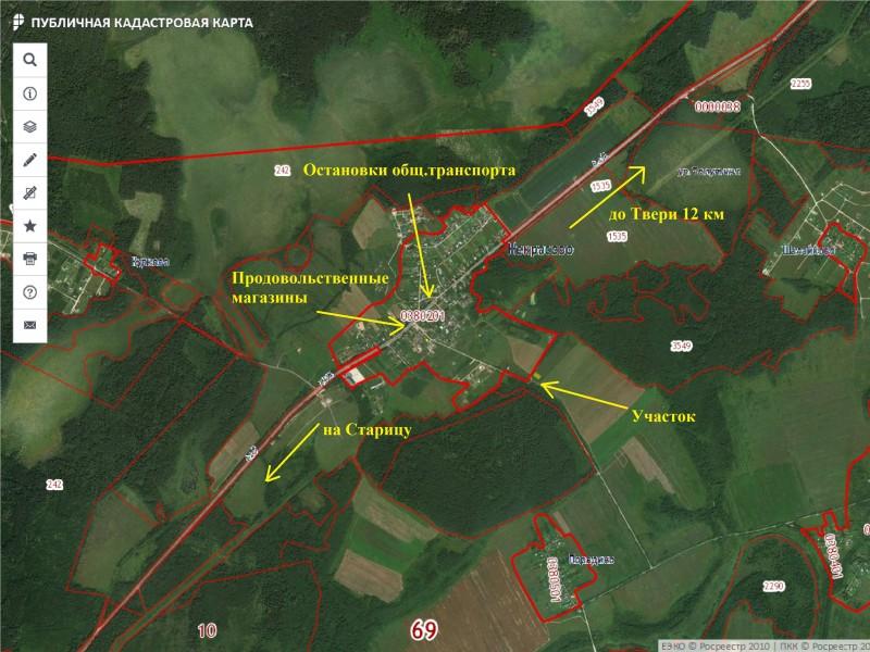 Продам участок по адресу Россия, Тверская область, Калининский район, Некрасово фото 5 по выгодной цене