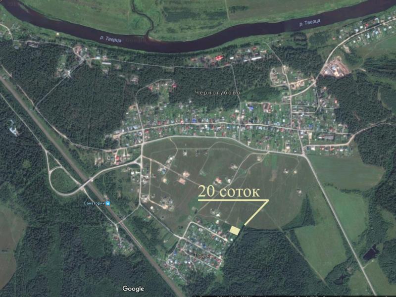 Продам участок по адресу Россия, Тверская область, Калининский район, Черногубово фото 3 по выгодной цене